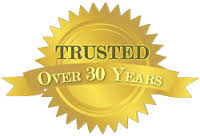 Trusted for over 30 years